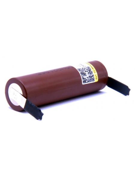Аккумулятор Li-Ion 18650 LiitoKala 3000 мАч (высокотоковый) 30А с хвостами