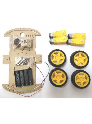 Платформа для робота Arduino 4WD (машина)