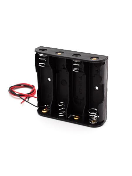 Батарейный отсек для 4х батареек АА, открытый