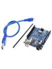 UNO R3 (Arduino совместимая) с проводом