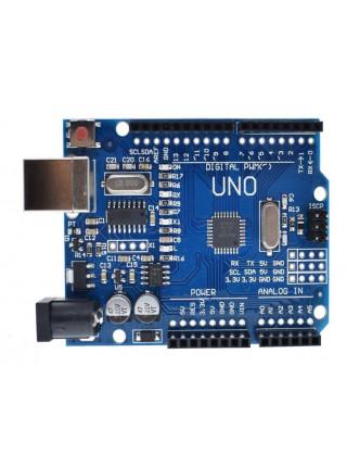 Arduino UNO R3 (Arduino-совместимая) с проводом