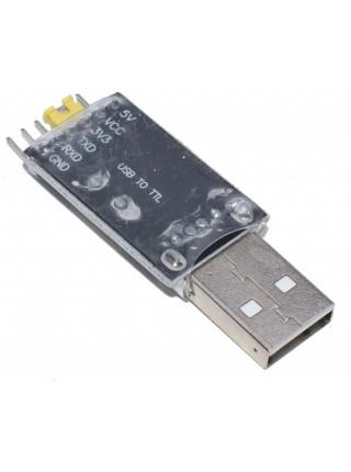 USB-Serial (TTL, UART) адаптер CH340G, 3.3-5V