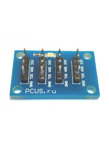Универсальный i2c hub (разветвитель i2c)