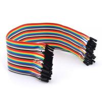 Набор проводов «Мама — Мама», для Arduino, 40шт, 20см