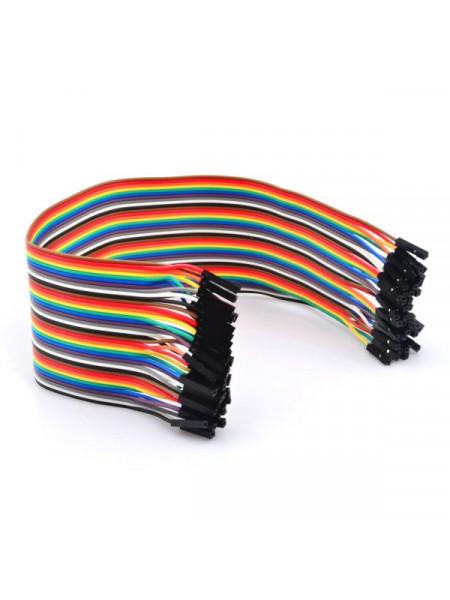 Набор проводов «Мама — Мама», для Arduino, 40шт