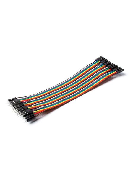 Набор проводов «Мама — Папа», для Arduino, 40шт, 20см