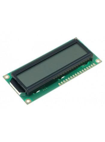 LCD дисплей 1602, HD44780, 16 символов, 2 строки, серый