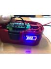 Индикатор заряда аккумуляторов (синий)