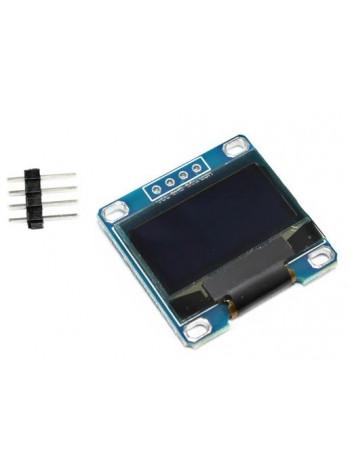 OLED дисплей 128x64 0.96 дюймов, I2C, монохромный белый