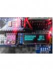 OLED дисплей 128x32 0.91 дюйм, I2C, монохромный синий