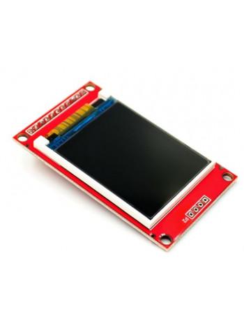 Цветной ЖК-дисплей 1.8 (SPI, microSD)