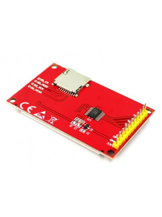 Цветной ЖК-дисплей 1.8' (SPI, microSD)