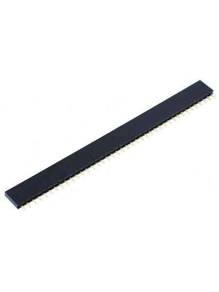 Гребенка 2.54мм 40шт (female header pin)