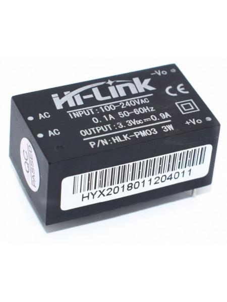 Источник питания AC-DC 220В в 3,3В (Hi-Link HLK-PM03)