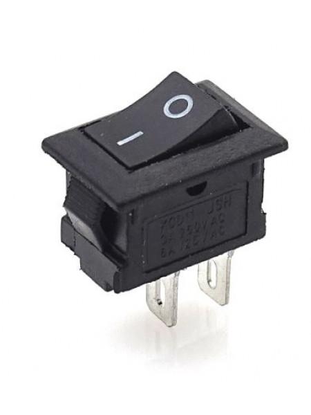 Мини выключатель клавишный 250V 3А