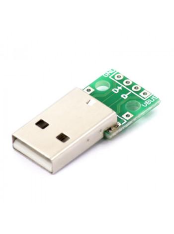USB DIP адаптер (разъем на плате)