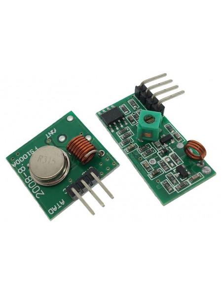 Радиомодули 315МГц приемник и передатчик