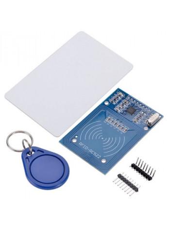 RFID модуль (RC522) с картой и брелком