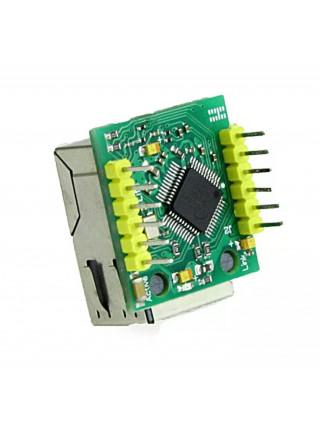 Мини модуль LAN Ethernet W5500 (USR-ES1)