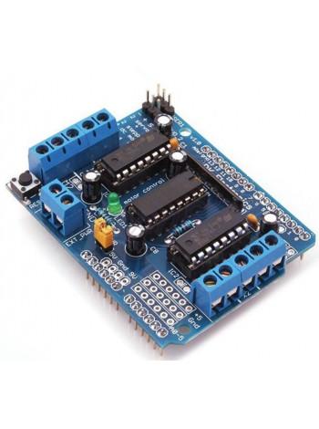Shield драйвера двигателя L293D для Arduino