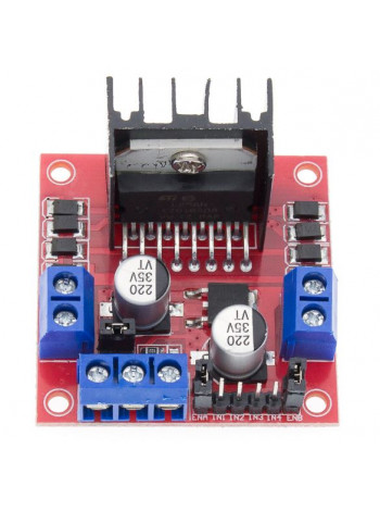 Драйвер моторов на L298N для Arduino