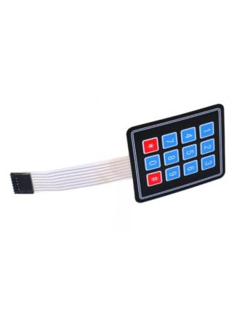 Матричная мембранная клавиатура 3х4