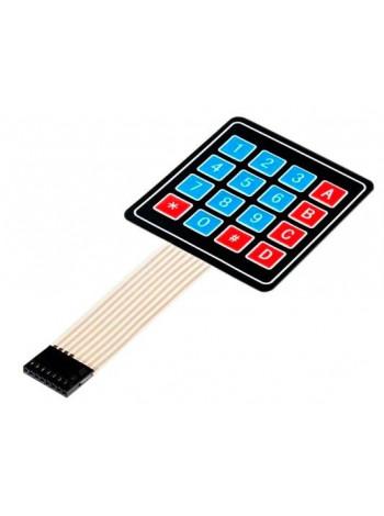Матричная мембранная клавиатура 4х4