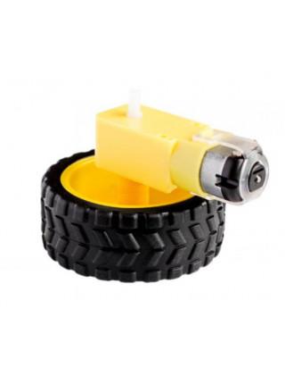 Мотор-редуктор с колесом