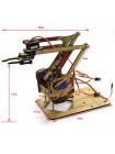 Робот-манипулятор механическая рука  (4DOF) без серво