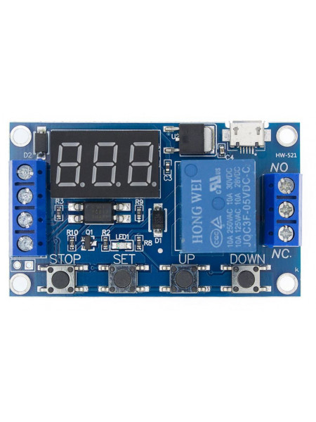 Модуль реле времени (программируемый) XY-J02