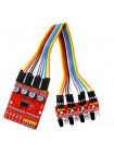 Модуль обнаружения препятствий с инфракрасными датчиками (4шт)