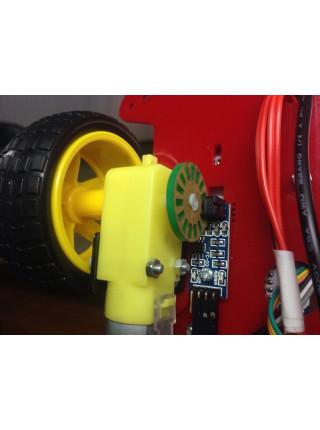 Оптический датчик скорости вращения FC-03 (датчик скорости оборотов)