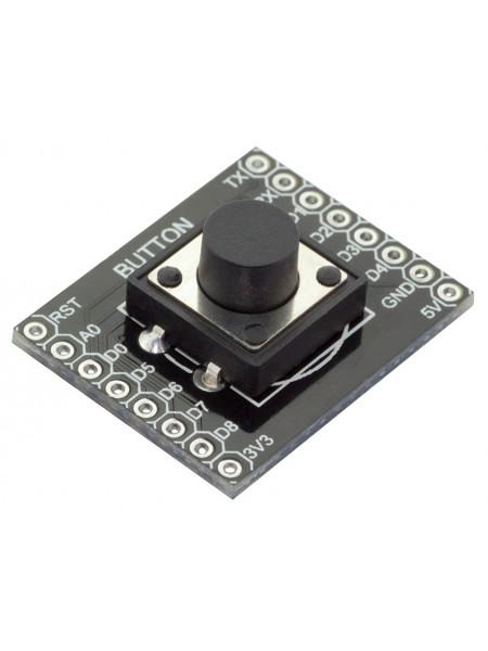 Модуль с тактовой кнопкой (WeMos)