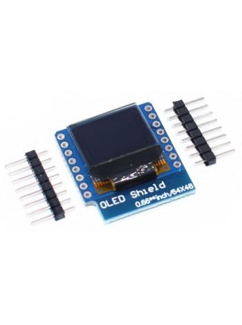 """Модуль OLED дисплея 0.66"""" 64х48 (WeMos)"""