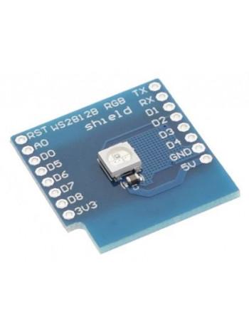Адресный светодиод WS2812b на плате (WeMos)